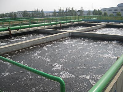 紡織印染行業廢水處理工程